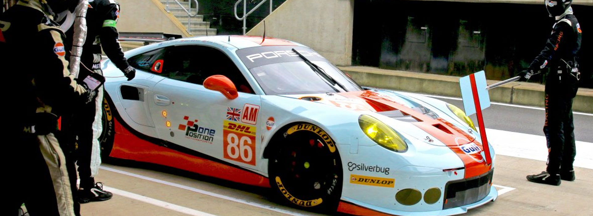 PROUD PARTNER OF GULF RACING